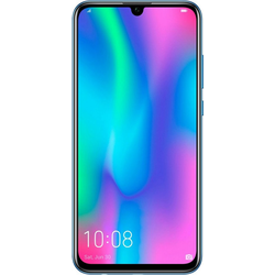 Honor 10 lite Smartphone (16,5 cm/6,2 Zoll, 64 GB Speicherplatz, 13 MP Kamera, + 24 MP Selfie Kamera) blau