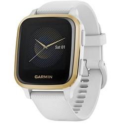 GARMIN Venu Sq Smartwatch weiß, weißgold