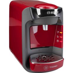 Kapselmaschine  Suny TAS3203, Kaffeemaschine, 777142-0 rot rot