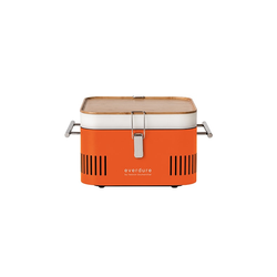 everdure CUBE Holzkohlegrill orange
