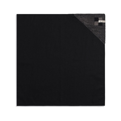 Knit Factory Geschirrtuch Geschirrtuch Block Schwarz/Taupe, (Mode)