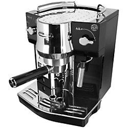 De'Longhi Kaffeemaschine EC820.B Espresso-Siebträgermaschine Schwarz, Silber