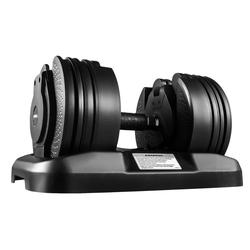 Technofit Kurzhantel Kurzhantel Hantel mit verstellbaren Gewichten 2,5 - 20 kg