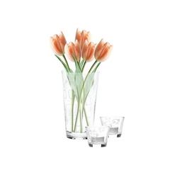 Aida Vasen-set 3-teilig (2 mini Schalen & 1 Vase)