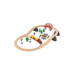 """BRIO® Spielzeugeisenbahn-Set Holzeisenbahnset """"Landleben"""""""