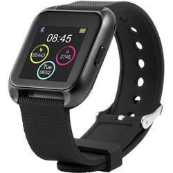 Technaxx TX-SW5HR Smartwatch Uni Schwarz, Blau-Weiß