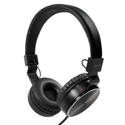 LogiLink Faltbarer Stereo Kopfhörer, schwarz