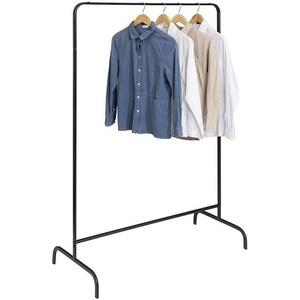 EUGAD Garderobenständer, Kleiderständer, Kleiderstange, Metall, Schwarz