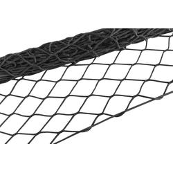 WALSER Schutznetz, Ladungssicherungsnetz, 300 cm x 200 schwarz Auto-Aufbewahrung Autozubehör Reifen Schutznetz