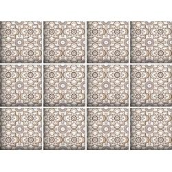 queence Fliesenaufkleber Mosaik Muster