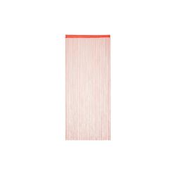 Fadenvorhang Fadenvorhang rot, relaxdays 90 cm x 245 cm