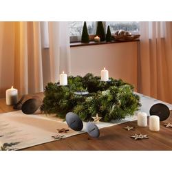 HomeLiving Kerzenhalter Adventskranz