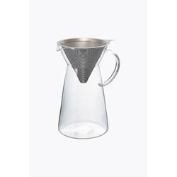 Hario papierloser Kaffeefilter mit Dekanter Glas