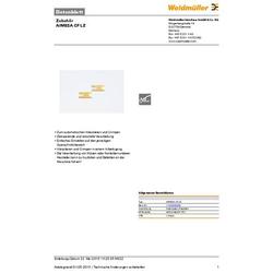Weidmüller AIMESA CF LZ 1120900000 Abisoliermesser-Ersatzmesser