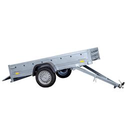 Transportanhänger 230x125 Garden Trailer 230 KIPP Unitrailer 750 kg