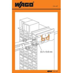 WAGO 210-407 Handhabungsaufkleber 100St.