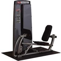 Body-Solid Beinpresse und Wadenmaschine Pro Dual inkl. Gewichtsblock 95 kg