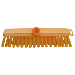 Haug Hygiene Besen, 295 x 60 x 95, Besatz: PBT Ø 0,50 mm (mittel), Besatzfarbe: gelb
