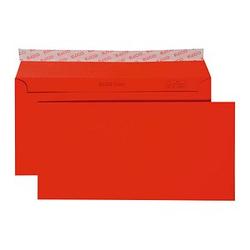 ELCO Briefumschläge DIN lang ohne Fenster rot 250 St.
