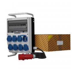 Stromverteiler TD-S/FI 8x230V Kabel 5x4mm2 SKHU Doktorvolt® 0342