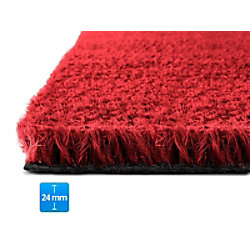 Fußmatte PALMERAS Kokos Rot Kokosfaser, Vinyl 24 mm 500 x 800 mm