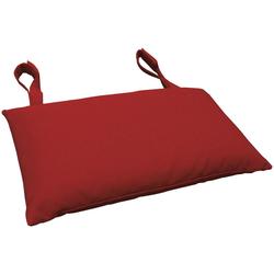indoba Dekokissen Premium, extra dickes Kopfkissen - Rot - IND-70430-AUKK