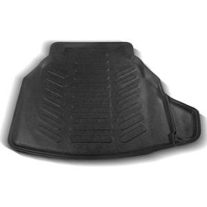 Rizline 3D passgenaue Kofferraummatte Gummimatte Allergiefrei Umweltfreundlich kompatibel mit Mercedes - C-Class W205 ab 2014