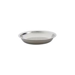 Edelrid Kochgeschirr Stainless Steel Plate 22x3 cm Geschirrart - Teller,