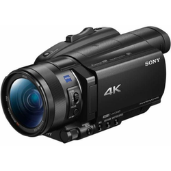 Sony FDR-AX700 Camcorder (NFC, 12x opt. Zoom, Exmor RS CMOS Sensortyp)