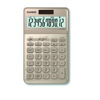 Casio JW-200SC-GD Taschenrechner Desktop Einfacher Taschenrechner Gold