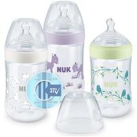 NUK Babyflasche Nature Sense Babyflasche mit Temperature Control Anzeige im 3er-Vorteilspack 3 x 260 ml