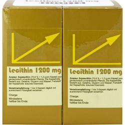 LECITHIN KAPSELN 100 St.