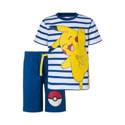 POKÉMON T-Shirt Pokemon Set T-Shirt + Shorts für Jungen 104/110