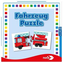 Noris Puzzle Fahrzeug ab 3 Jahren, 24 Puzzleteile