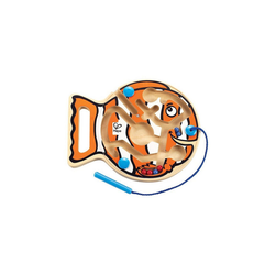 Hape Motorikwürfel Magnetspiel Dicker Fisch