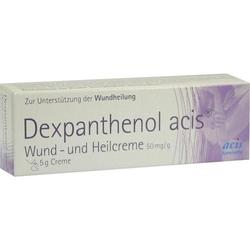 DEXPANTHENOL acis Wund- und Heilcreme 5 g