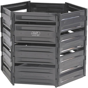 AL-KO Komposter Komposter Jumbo 800, BxTxH: 125x110x100 cm, 800 l schwarz