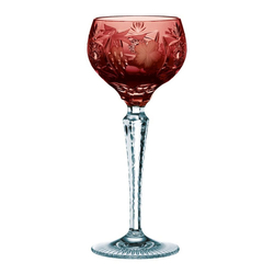 Nachtmann Weinglas Römer Groß Traube Kupferrubin, Kristallglas