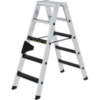 Günzburger Aluminium-Stehleiter 2 x 5 Stufen 43805