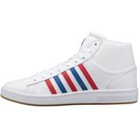 K-Swiss Court Winston Mid white/classic blue/red/gum 44,5