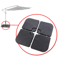Gewichte / Beschwerungsplatten für Sonnenschirmständer / Ampelschirm Verona