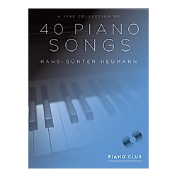 A Fine Selection of 40 Piano Songs  für Klavier  m. MP3-CD - Buch