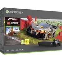 Microsoft Xbox One X 1TB schwarz + Forza Horizon 4 + Forza Horizon 4: LEGO Speed Champions (Bundle)