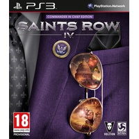 Saints Row IV - Commander in Chief Edition (PEGI) (PS3)