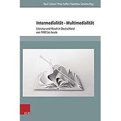Intermedialität - Multimedialität - Buch