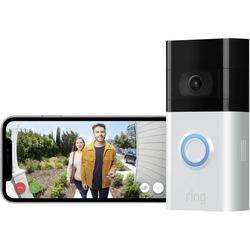 Ring 8VRSLZ-0EU0 IP-Video-Türsprechanlage Video Doorbell 3 WLAN Türsprechanlagen-Modul Silber