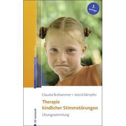 Therapie kindlicher Stimmstörungen