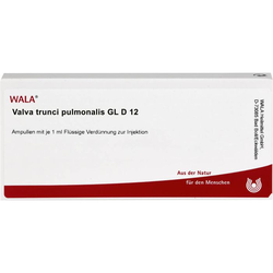 VALVA trunci pulmonalis GL D 12 Ampullen 10 ml