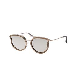 Kerbholz Maria Walnut, Cat Eye Sonnenbrille, Damen