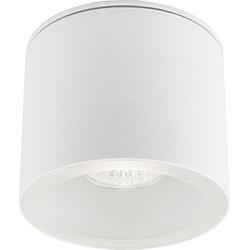 Licht-Erlebnisse Strahler HEXA Weiße Deckenleuchte Strahler kompakt Außenbeleuchtung Aufbauleuchte Lampe (1-St)